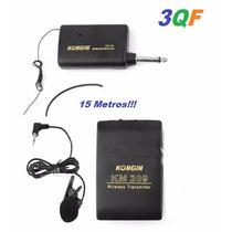Microfonos Inalámbricos Solaperos Vhf 3qf