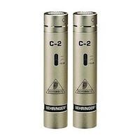 Dos Micros De Condensador C2 Behringer C-2 Par