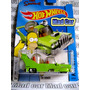 Mad Car The Homer The Simpsons Hot Wheels Auto 1/64 Homero