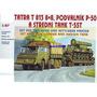1/87 Camion Trailer Tanque T 55 Barco Auto Avion Mig Sukhoi