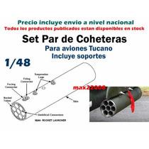1/48 Coheteras Avion Tucano Tanque Mirage Sukhoi Mig Lupo Cd