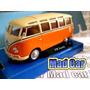 Mc Mad Car Vw Volkswagen Samba Auto Clasico 1/43 Cararama