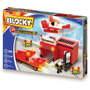 Blocky Bombero 2 Estación Camión Helicóptero 192pzs 5-10años