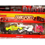 Mc Mad Car Camion Transportador Auto Majorette Ho 1:87 1:64