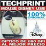 Mouse Disney Minnie Conexion Usb Optico De 800 Dpi Original