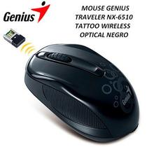 Mouse Genius Traveler Nx-6510 Tattoo Wireless Optical Negro