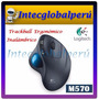 Mouse Inalámbrico Láser Logitech M570 Trackball Ergonómico