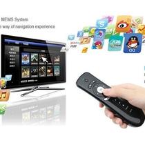 Control Air Mouse Con Teclado Y Microfono Para Pc Smart Tv