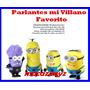 Parlante - Radio - Mp3 Minions De Mi Villano Favorito