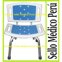 Silla Ducha Adulto Mayor Para Baño De Pacientes