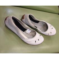 Zapatos Zapatillas Balerina Cuero Mujer Merrell Original Eeu