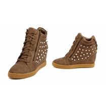 Zapatillas Wedge Sneaker Taco Americanos