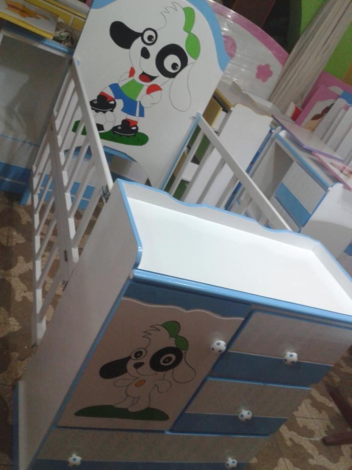 Multicuna tipo cama cuna doki pintura al duko s 514 99 - Protector para pared cama ...