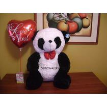 Peluche Oso Panda Musical +globo Envio Gratis A Domicilio