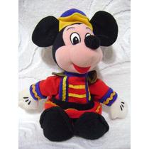 Mickey Mouse Cascanueces Disney Original Peluche Muñeco
