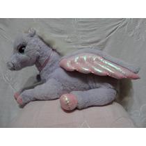 Pegasus Pony Con Alas Peluche Muñeco Original Grande Mattel