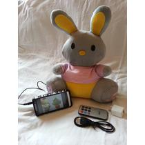 Peluche Radio A Control Remoto Con Estrada Usb Y Micro Sd