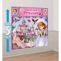 Princesita Sofia - Decoración De Pared Para Fiesta Infantil