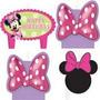 Minnie Mouse Bow-tique - Velas Para Fiesta Infantil