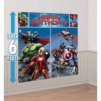 Avengers - Decoración Para Fiesta Infantil (vengadores)