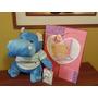 Peluche Hipopotamo Azul Con Polo A Rayas