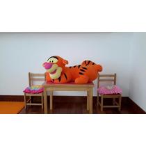 Peluche Muñeco Grande Tigger De Coleccion Amigo Winnie Pooh