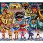 Saint Seiya Hgif Temples 1 Caballeros 6 Figuras Anime Nuevas