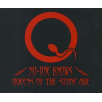 Queens Of The Stone Age - No One Knows Cd Single Limited