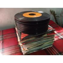Lote De 100 Discos De 45 De Musica Variada Gratis Envio