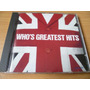 Cd The Who Greatest Hits Beatles Rolling Kinks (top Music)
