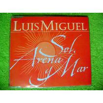 Cd Single Luis Miguel Sol,arena Y Mar 1 Track Divo Mexicano