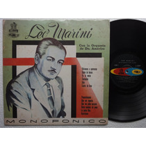 Lp Leo Marini Orquesta D Don Americo Odeon Colombia Codiscos