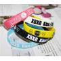 Pulseras Silicona Grupo Exo Xoxo K-pop Importado De Asia