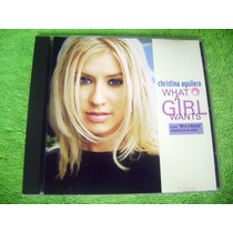 Eam Cd Single Christina Aguilera What A Girl Wants Britney
