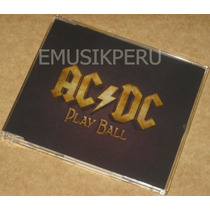 Ac/dc Play Ball (single) Acdc