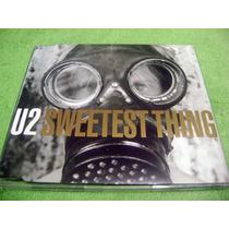 Eam Cd Single U2 Sweetest Thing 1998 + 2 Trak Live Red Rocks