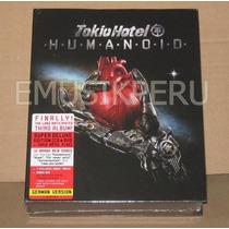 Tokio Hotel Box Humanoid Super Deluxe+bandera ...... (nüevö)