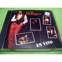 Eam Cd Luis Enrique En Vivo 1992 Frankie Eddie Jose Salsa
