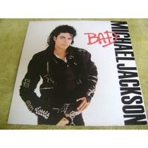 Lp Vinilo Michael Jackson Bad 1987 Gatefold Edicion Inglesa