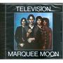 Ciudad Television Marquee Moon (cd Sellado Uk) Blondie Toto