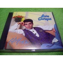 Eam Cd Luis Enrique Mi Mundo 1989 Cbs Frankie Eddie Salsa