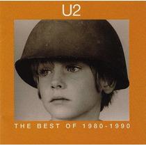 Cd Original U2 The Best Of 1980-1990 Club Edition Island Usa