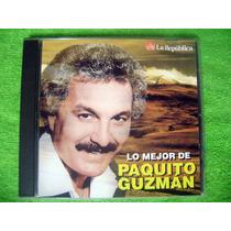 Cd Lo Mejor De Paquito Guzman Frankie,eddie,lalo,nino Salsa