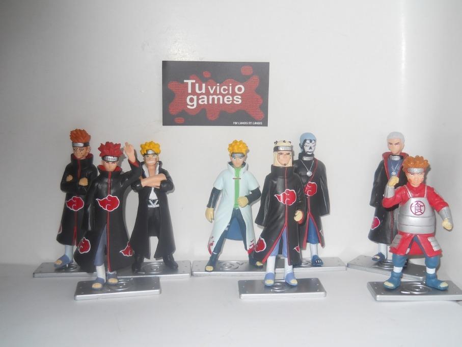 Naruto colecci n c 4 figuras s 49 00 en mercadolibre for Coleccion figuras naruto altaya