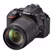 Nikon D5500 18-140mm Vr + 16gb Bonus Local Miraflores