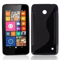 Funda / Protector De Tpu Nokia Lumia 630 635 + Mica - Tienda