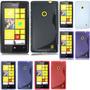 Funda Cover Estuche Protector Tpu Gel Nokia Lumia 520