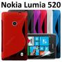 Funda Estuche Silicon Gel Tpu Nokia Lumia 520