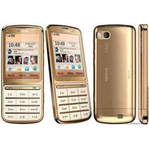 Pedido Nokia C3-01 5mpx Touch And Type Gold Edition Libre