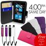 Pedido Estuche Nokia Lumia 800+stylys+protector De Pantalla